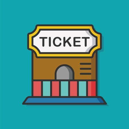 ticketing: playground circus ticketing icon