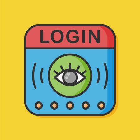 login icon: Internet Protection login icon
