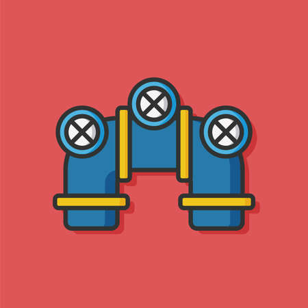 water pipe: Water pipe vector icon