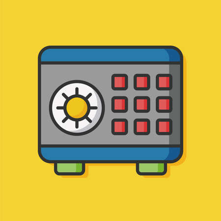 password security: Safety Deposit Box icon