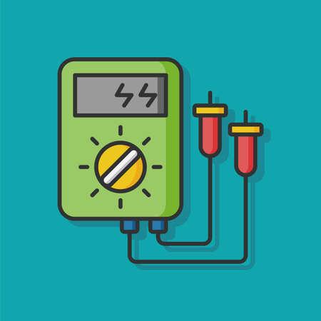 변압기 기계 벡터 아이콘