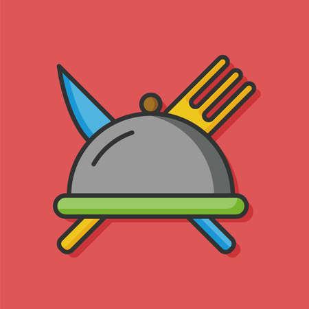 food tray: food Tray vector icon