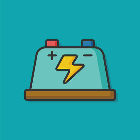 charge: battery charge vector icon