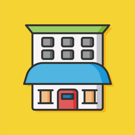 architecture: architecture building vector icon