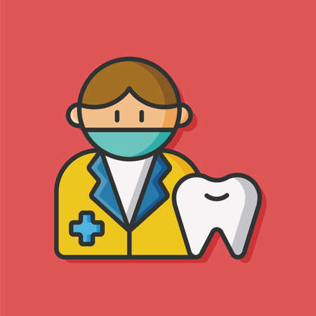 mouth smile: tooth dentist vector icon