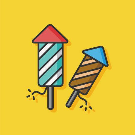 cracker: birthday cracker vector icon Illustration