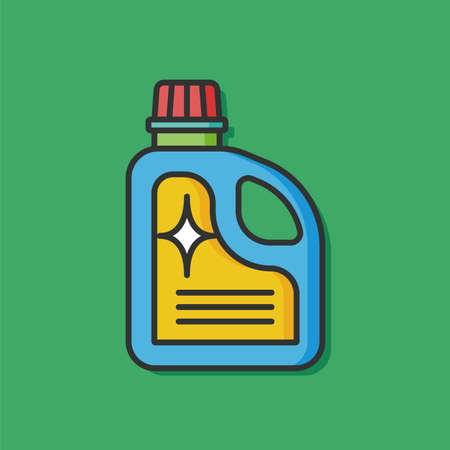 laundry detergent: Laundry detergent vector icon