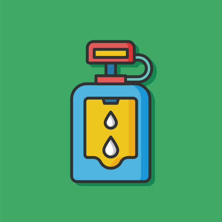 urinal: Toilet Urinal vector icon Illustration