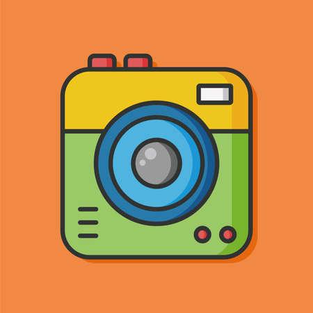 camera film: camera film vector icon