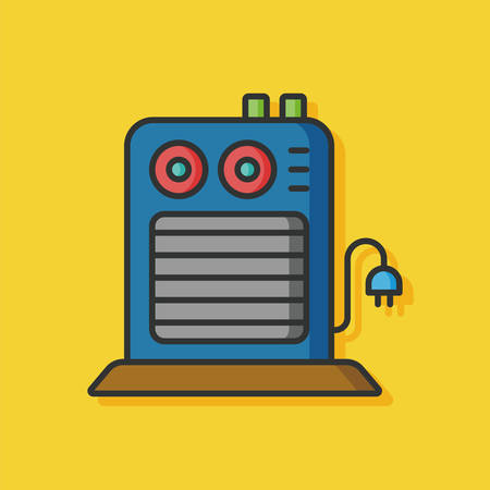 thermodynamic: Water Heater vector icon