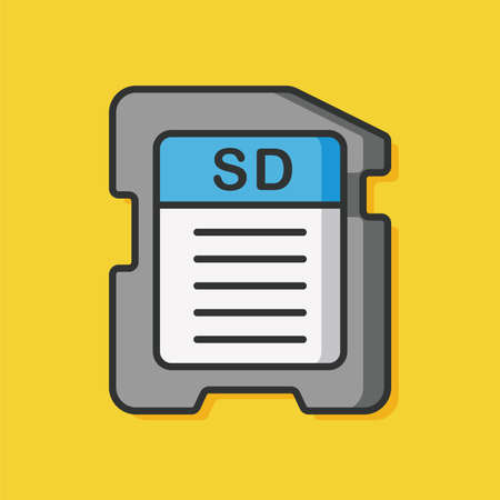 sd: camera SD card icon