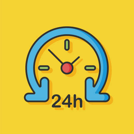 limited time: Limited time delivery vector icon