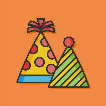 birthday party: birthday party hat icon