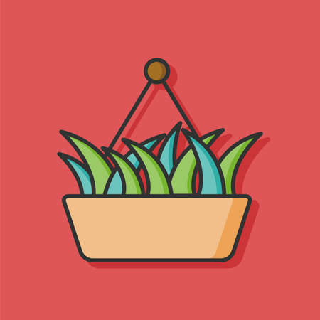 plant nature vector icon 向量圖像