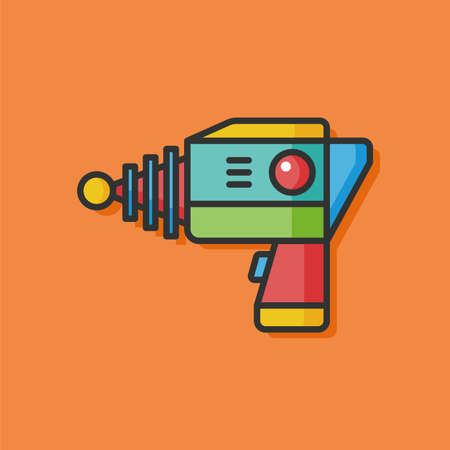 raygun: Space Gun vector icon