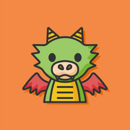 devil cartoon: monster cartoon character icon