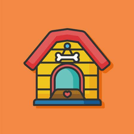 dog house: dog house vector icon