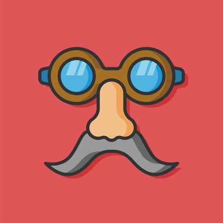 eye mask: eye mask vector icon