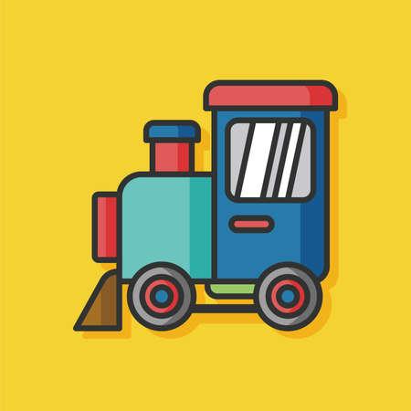 black baby boy: baby toy train icon