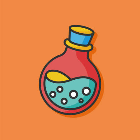 poison: poison drug vector icon Illustration