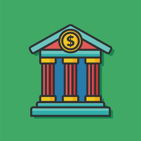 chequebook: money bank vector icon