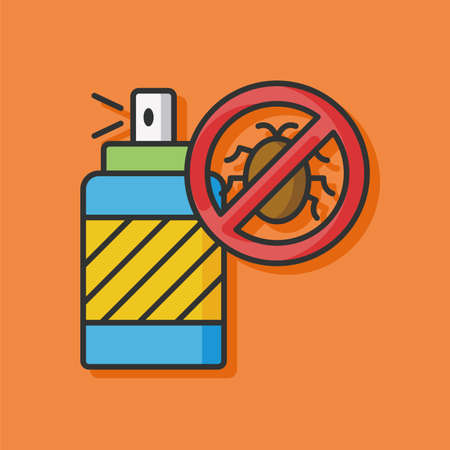 pesticide: Pesticide drug vector icon
