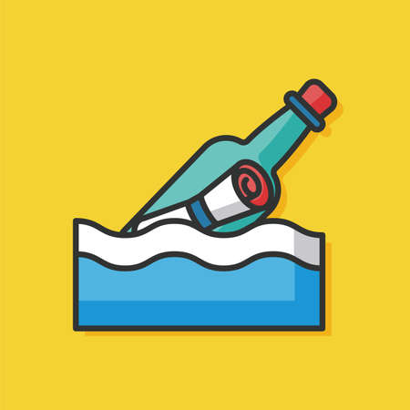 message in bottle: Message in a Bottle icon