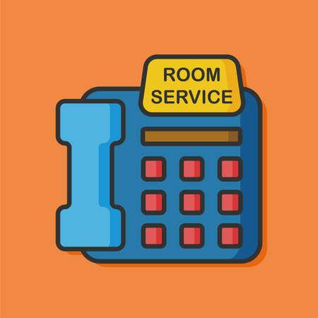 mobile operators: hotel Customer Service icon