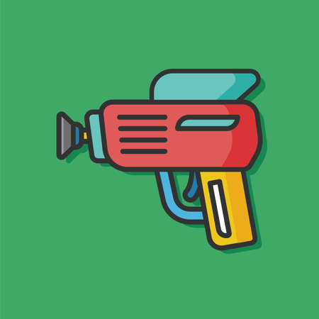 baby toy: baby toy gun icon