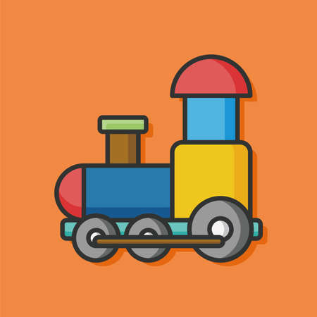 toy train: baby toy train icon