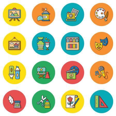 icon set art vector