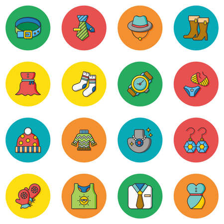personal protective equipment: icon set wearing vector