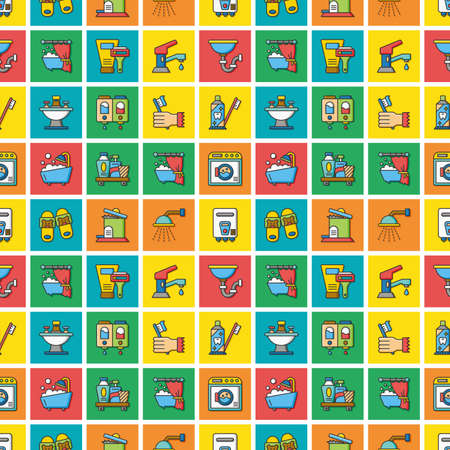 icon set sanitary Vektorové ilustrace