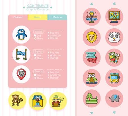 geolocation: icon set zoo