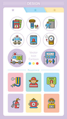 icon set emergency