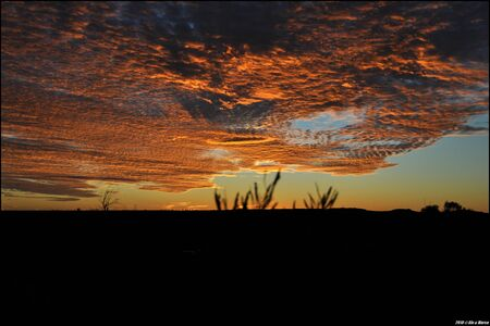 ayers: Sunset at the Ayers Rock