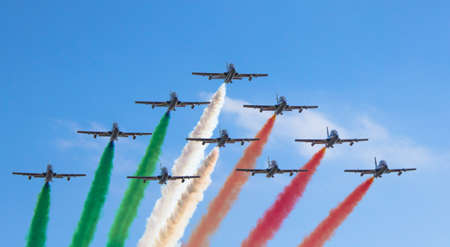 Italian Air Force Acrobatic Team Imagens