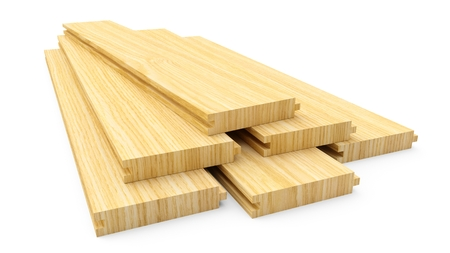 3D rendering board wooden material construction
