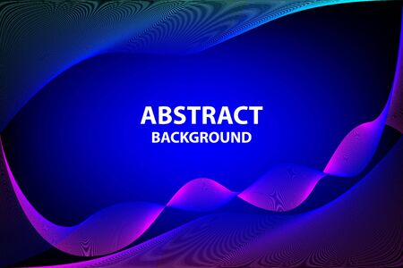 abstract blue and pink background with copy space for your text Illustration