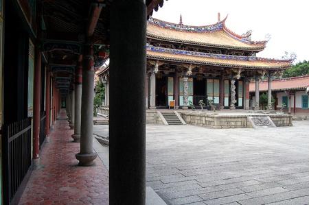 Peaceful Confucius Temple Stock Photo