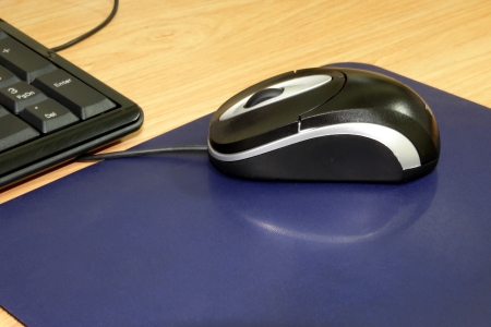mouse pad: Mouse and mouse pad which Peripheral Accessories of PC