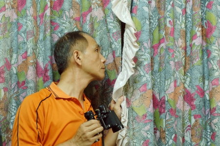 investigators: Investigation of the investigators in Indoor Stock Photo