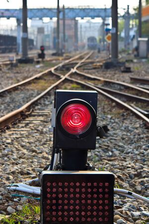 electrify: The Facility of Railway and traffic light for Train