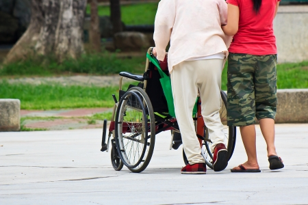 The nursing care of elderly patient with Spinal cord injury