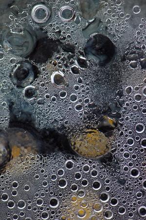 vapore acqueo: Modello di piccoli cerchi da vapore acqueo