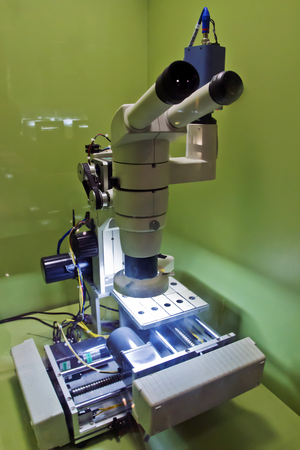 A Scientific Instrument of Electron microscope for Observation and Research