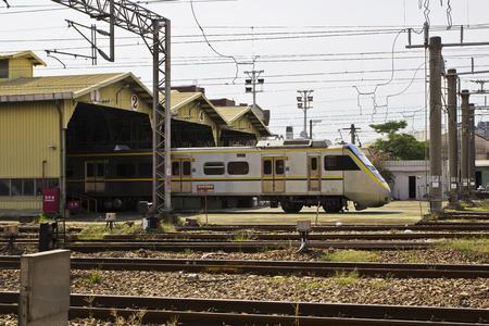 electrify: Train and maintenance plant
