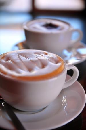 distinctness: Syrup cappuccino and mocha coffee