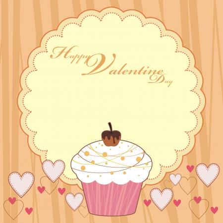quiddity: HAPPY VALENTINE DAY CUP CAKE