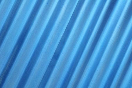 oblique blue metal sheet texture  Stock Photo